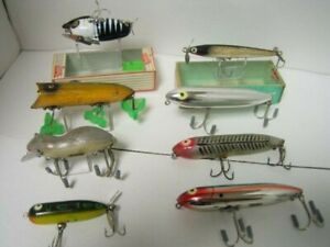 Bargain Vintage Heddon Hedon Lure 8 Points Out Of Print Traders Catalog Greatly