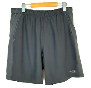 The North Face Mens L FlashDry 9 Liner Lined Black Running Athletic Shorts $24.99