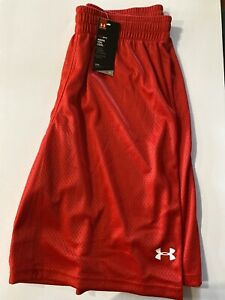 Under Armour Heat Gear Shorts Size Extra Large Color:Red NEW $15.00