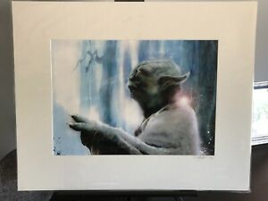 Star Wars Yoda Art Giclee $45.00