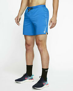 Nike Flex Stride Men's 7 Brief Lined Running Shorts. Size: Large. Pacific Blue $45.00