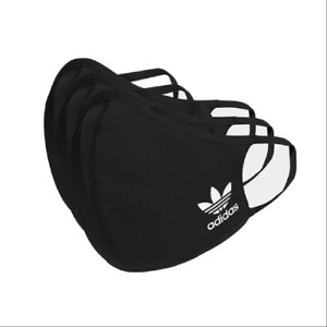 adidas 3 Pack Kid#x27;s Youth Face Cover Facemask Children 12 and Under XS Small