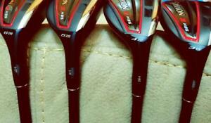 Srixon Tour Issue H85 Hybrids, 3,4,5,6, Tour Lofts Only Tour Serials Stiff Flex