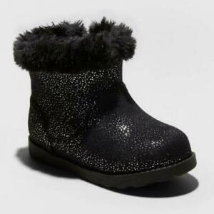 Toddler Girls#x27; Oriole Shearling Boots Cat amp; Jack™ Black