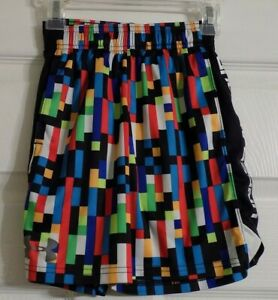 Boy's Under Armour Athletic Shorts Size YXS Youth XS Multi Colors Waist Tie $7.49