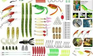 Gimland Soft Fishing Lures Kit for Bass Baits Tackle Including Trout Salmon S