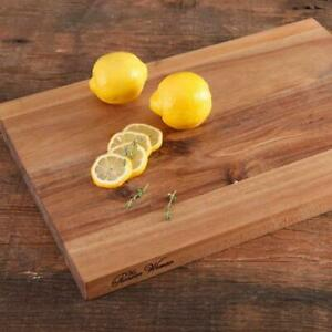 Acacia Wood Cutting Board Kitchen Butcher Slice Serving Chopping Block 12