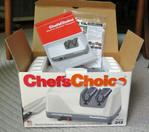 Chef's Choice Diamond UltraHone Electric Sharpener Model 312. Never used!