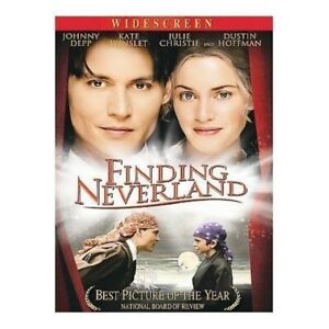 FINDING NEVERLAND WIDESCREEN EDIT MOVIE EACH DVD $2 BUY AT LEAST 4 $4.99