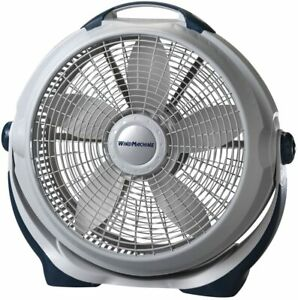 Lasko 3300 Wind Machine Air Circulator Portable High Velocity Floor Fans, for In