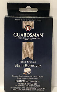 Guardsman Furniture Fabric First Aid Kit Stain Remover Upholstery Carpet