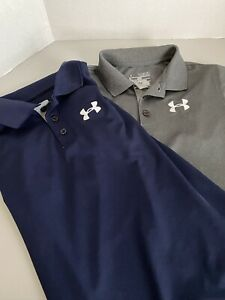 Boys Youth Medium Under Armour Shirts, Lot Of 2, Great Condition $12.50