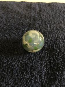 glass art marble Earth