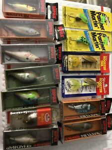 NEW Rapala Fishing Lures  Shad Rap  DTMann'sRooster Tails. PM.