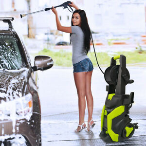 Electric Pressure Washer High Power Cold Water Cleaner Machine 3800PSI 2.6GPM $139.99