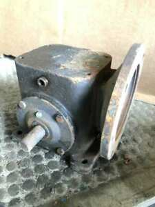 Browning Right Angle Worm Gear Speed Reducer 5:1 $50.00