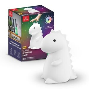 Tommy Dino Dinosaur Color Changing Lamp LED Night Light TIK TOK IN HAND $39.99