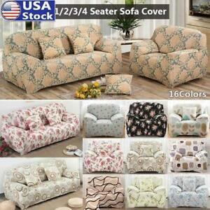 Printed Stretch Sofa Slipcover Couch Covers Universal Sofa Slipcover Protectors
