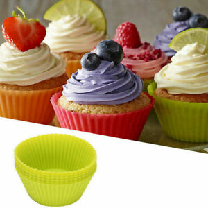 New 12 Pak 7 cm Silicone Cup Cake Mold Muffin Cupcake Form to Bake Kitchen Tools