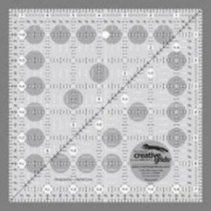 Creative Grids 7.5quot; Square Quilting Ruler Template CGR7 $18.36