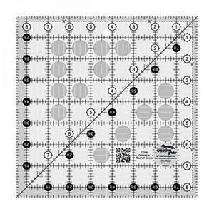 Creative Grids 8.5quot; Square Quilting Ruler Template CGR8 $23.09