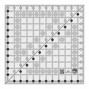 Creative Grids 12.5quot; Square Quilting Ruler Template CGR12 $30.96