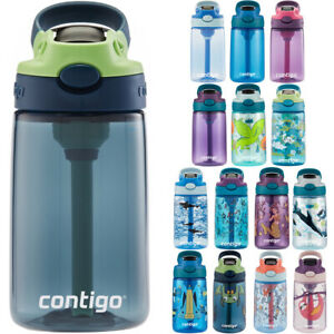 Contigo Kid#x27;s 14 oz. AutoSpout Straw Water Bottle with Easy Clean Lid