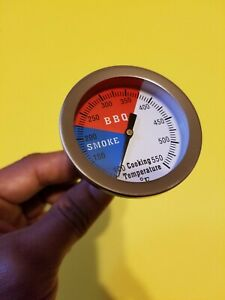New Arrival 2quot; BBQ SMOKER PIT GRILL THERMOMETER TEMP GAUGE