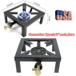 Portable Camping Stove Single Burner Propane Gas LPG Outdoor BBQ Grill Cooker
