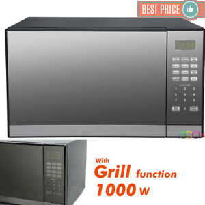 Oster Microwave Oven CounterTop Stainless Steel Mirror Digital 1.3 ft with Grill $109.98