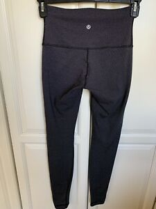 Lululemon Wunder Under Print Diamond Dot Tights Size 4 Excellent Luon $65.00