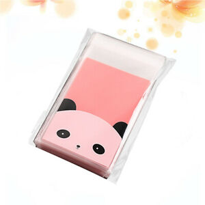 100 Pcs Gift Bags Self adhesive Candy Bags for Packing Cookies