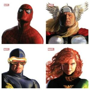 ALEX ROSS TIMELESS VARIANT SET 18 COVERS MARVEL COMICS THOR 8 SPIDER MAN 50 $82.00