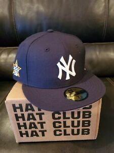 Hat Club Exclusive Yankees 2020 All Star Patch With Pink Under Visor Size 7½ $80.00