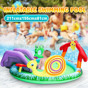Summer Kids Inflatable Swimming Pool Children Water Playing Center CA3