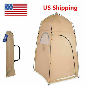 1 2 Person Portable Pop Up Toilet Shower Tent Changing Room Camping Shelter USA