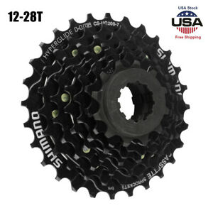 Bicycle 7 Speed Freewheel Cassette Sprocket 12 28T for MTB Road Cycling Bike New $20.89