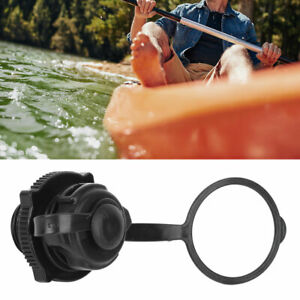 1PC Inflatable Boat Air Valve Cover ABS One Way Quick Inflation Canoe Kayak Kit
