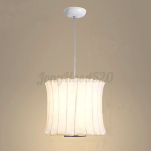 White Modern Ceiling Light Pendant Lamp Lampshade Home Dining Fixture Decor $37.95