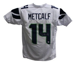 DK Metcalf Autographed Signed Pro Style White XL Jersey BAS 28327 $119.99