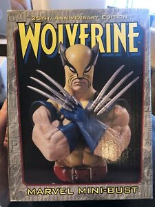 WOLVERINE 25th Ann. MARVEL Mini Bust 902 2000 Bowen Designs FANDOM GOLD EDITION $49.99