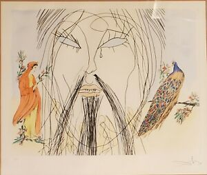 SALVADOR DALI signed 1 of 500 Lithograph $750.00