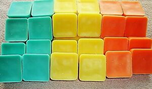 CHOOSE From Over 60 Scents Receive 24 Soy Blend Wax Candle Melts Tarts 8oz Total