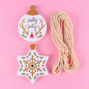 100pcs Gift Tag Novel Christmas Lightweight Gift Tag for Party Home Baking Shop