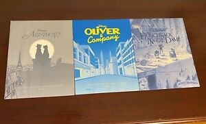 Lot of 3 Disney Exclusive Commemorative Lithographs w Sleeves **MINT**RARE** $79.99