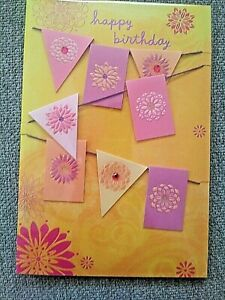 Warm Colors Simple Happy Birthday Card Reasons to Celebrate.