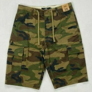 Men#x27;s Vans Off The Wall Fowler Camo Camouflage Shorts 22quot; Outseam Size 28