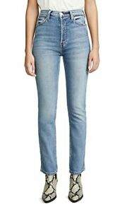 2020 Redone Double Needle high rise Straight Jeans sz 26 $265 NWT $148.00
