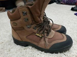 CABELAS Boots 15 Mens Gore Tex Lined Hunting Boots Leather Waterproof Insulated