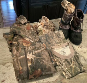 CABELA'S RED HEAD Lot Of 6 Pieces Hunting Clothes Camo